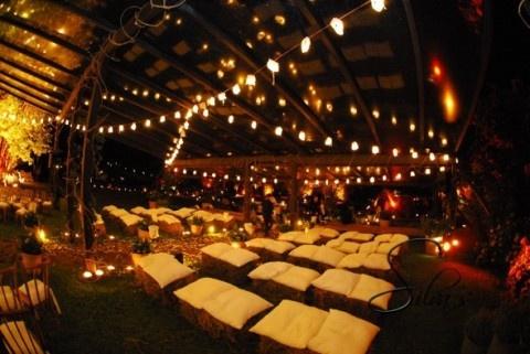 Decoración de una fiesta de casamiento con estilo campestre-11