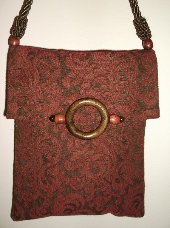Oneofakind Handmade Wearable Art Handbag By Rcbags On Etsy 65 00 Handbags Pinterest