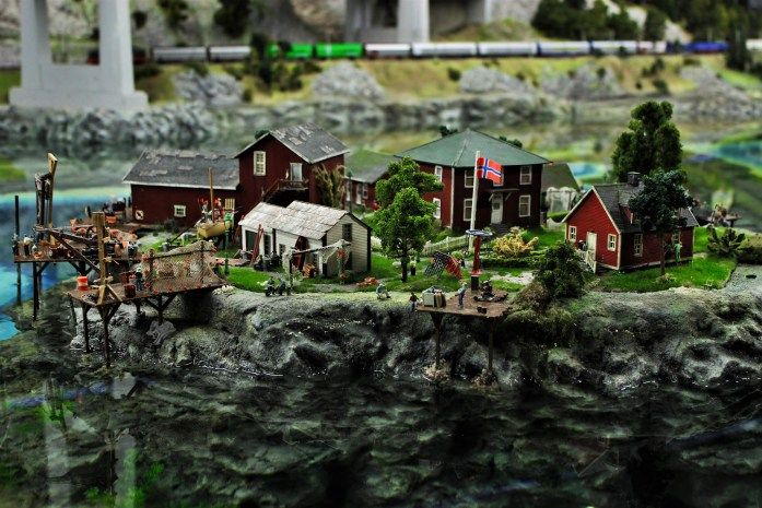 Miniatur Wunderland in Hamburg Norwegen