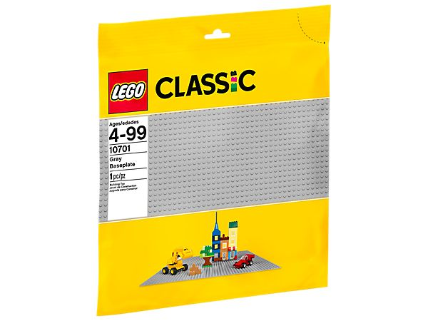 <p>Explore product details and fan reviews for Gray Baseplate 10701 from LEGO® Classic. Buy today with The Official LEGO® Shop Guarantee.</p>