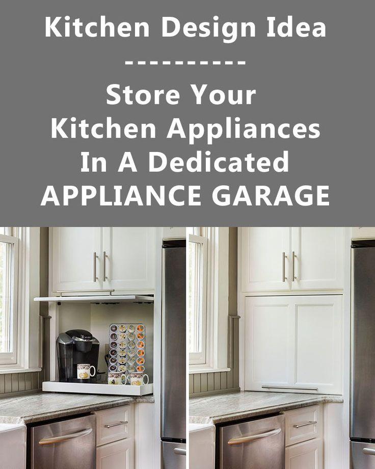 Best 25+ Appliance Garage Ideas On Pinterest