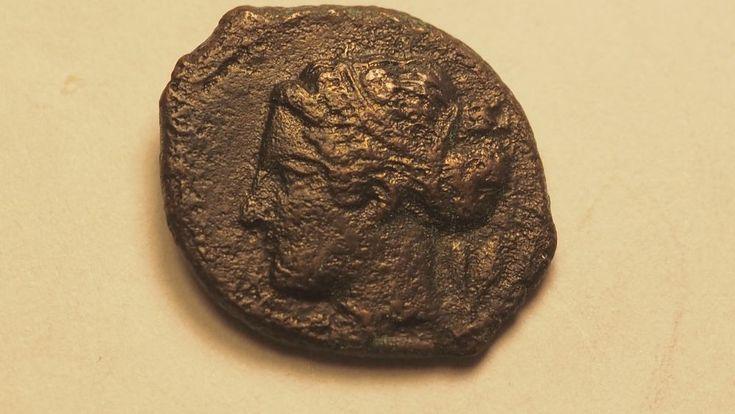 Monnaie antique grecque :SICILE SYRACUSE Bronze 400 av J.-C.