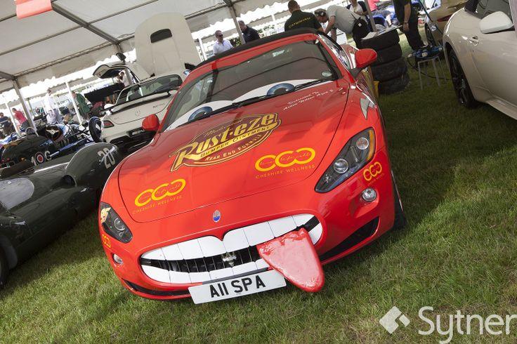 Cheeky Maserati GranCabrio!