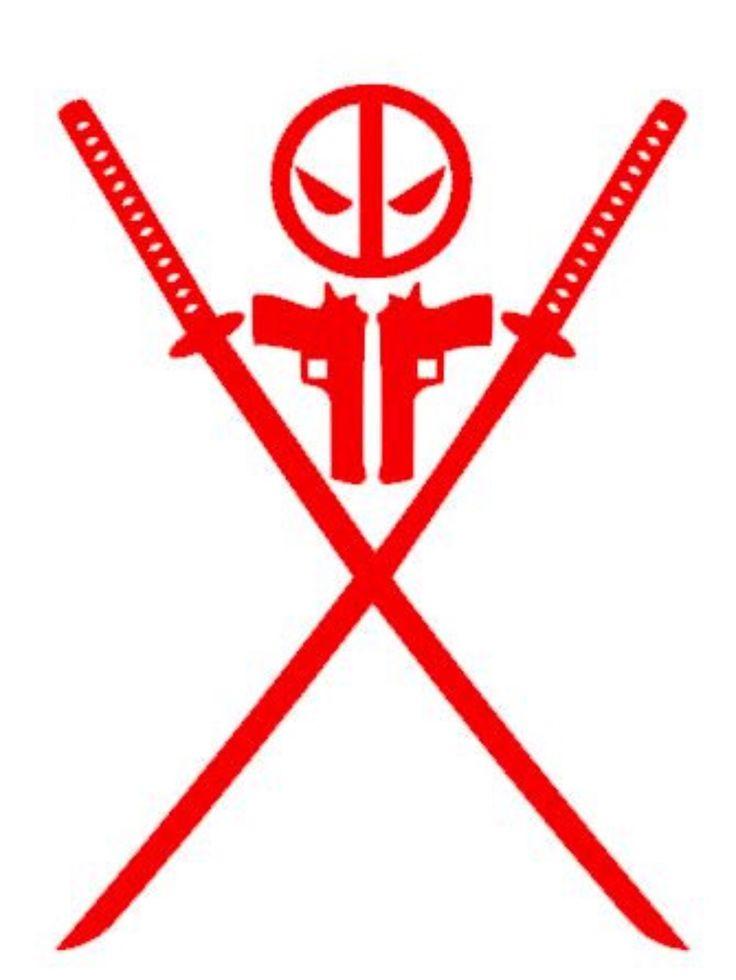 Deadpool Guns Swords Car Decal Sticker https://www.etsy.com/listing/271062887/deadpool-swords-guns-car-decal-sticker