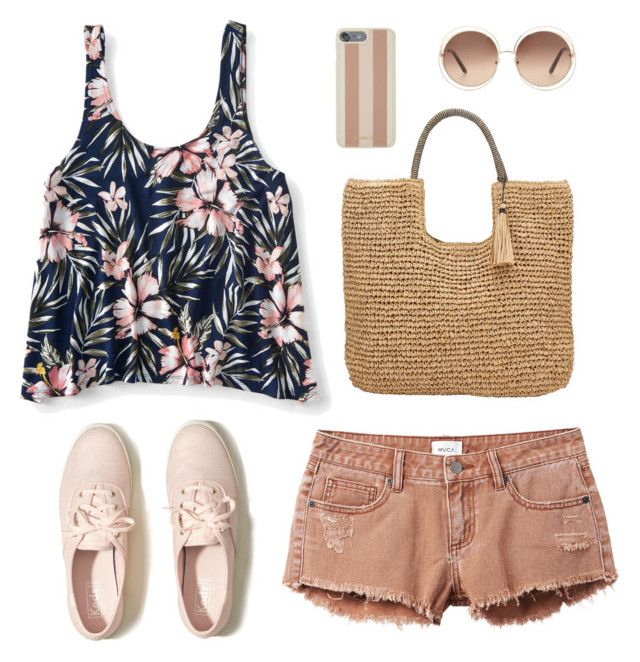 """""""Girly"""" by sheere on Polyvore featuring moda, RVCA, Aéropostale, Hollister Co., Michael Kors, Chloé i John Lewis"""