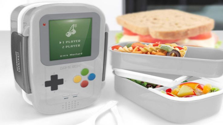 Step Up Your Lunch Game with a Gameboy-Style Bento Box