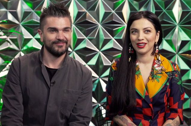 Juanes and Mon Laferte Amarte Tour: Watch Their Joint Interview Billboard | Billboard
