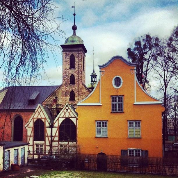 IgersGdansk • The Corpus Christi Church #Gdansk #architecture (Kościół Bożego Ciała)...