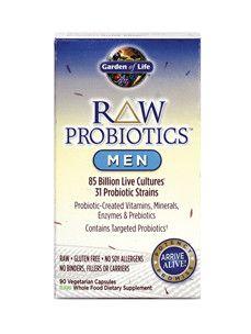 Garden of Life- RAW Probiotics Men 90 vcaps