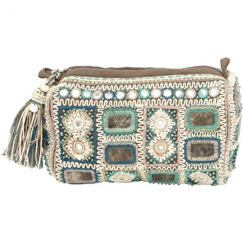 Purse. Bag. Turquoise. Aqua. Natural.