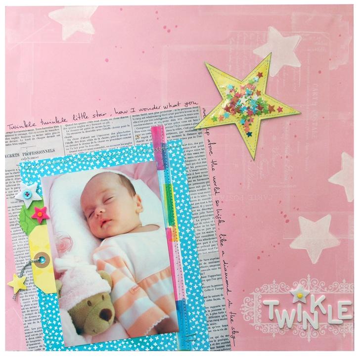 {Eu}scrapbooking: Twinkle twinkle
