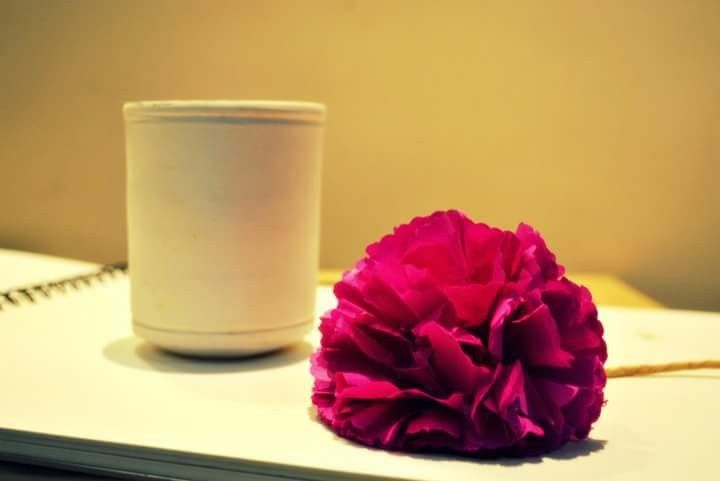 Carnations are most simple paper flowers that can be created from tissue paper... Learn how to create these on Krafity...