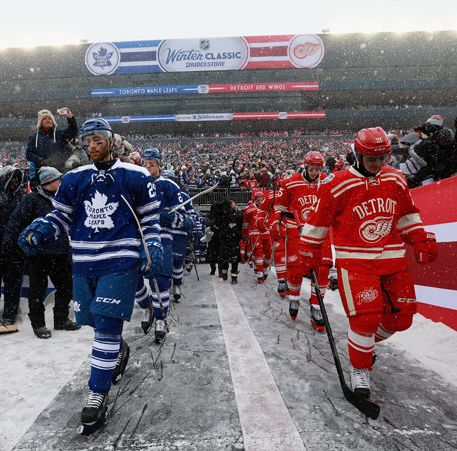 2014 Winter Classic #leafs #wings