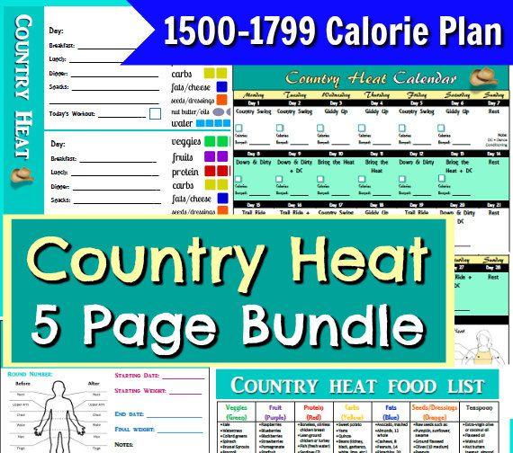 Best 25+ Country heat ideas on Pinterest Country heat results - workout program sheet