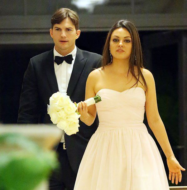 Ashton Kutcher and Mila Kunitz married in 2015