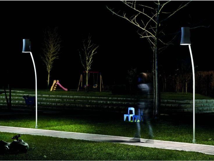 Lámpara de pie de aluminio GIARDINA TE PT Colección Giardina by Vetreria Vistosi | diseño Diego Chilò, Fiorenzo Valbonesi, Giancarlo Ventrucci