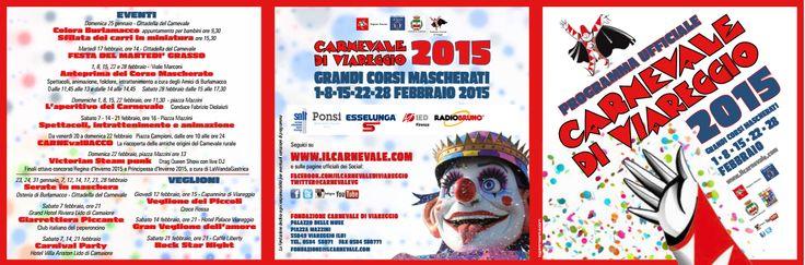 Appuntamenti Carnevale Viareggio 2015