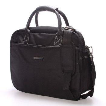 #trendy #taška  Brašna Enrico Benetti pro pány i dámy. Ochraňte svůj počítač před vnějšími vlivy kvalitně a s elegancí. Do tašky se vleze notebook s maximálními rozměry 36 x 26 cm. Zepředu, zezadu a uvnitř jsou kapsy na zip. Součástí je nastavitelný odepínací popruh přes rameno. Novinka 2016/2017!