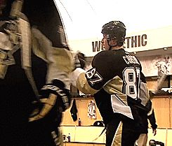 Two-Headed Monster--Evgeni Malkin and Sidney Crosby