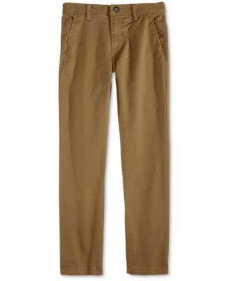 Volcom Slim-Fit Chino Pants, Big Boys (8-20 Aaron Needs size 28)