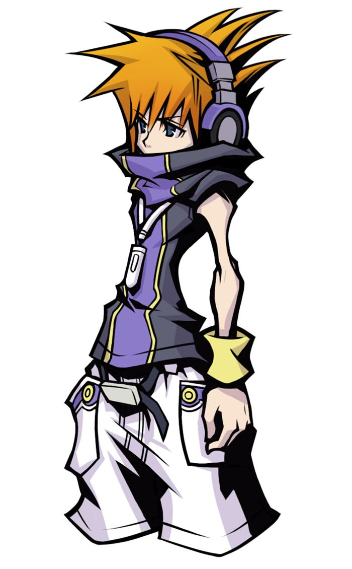 Neku Character Concept Art From The World Ends With You Final Remix Art Illustration Artwor Concept Art Characters Concept Art Character Design Inspiration