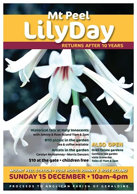 Mount Peel Lily Day