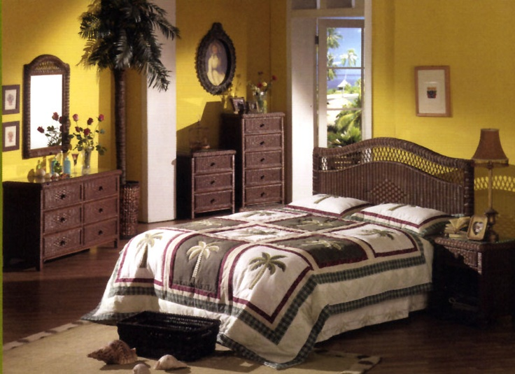 Like the headboard.  americanrattan.com