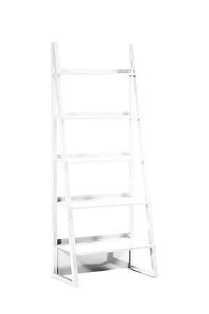 """Our freestanding ladder shelf is a stylish shelving unit that will work well in any home or office setting.<div class=""""pdpDescContent""""><ul><li> MDF</li><li> Duco</li><li> Assembly required</li></ul></div><div class=""""pdpDescContent""""><BR /><b class=""""pdpDesc"""">Dimensions:</b><BR />L71.5xW50xH180 cm<BR /><BR /><div><span class=""""pdpDescCollapsible expand"""" title=""""Expand Cleaning and Care"""">Cleaning and Care</span><div class=""""pdpDescContent"""" style=""""display:none;""""><ul><li> Dust frequently with a clean…"""