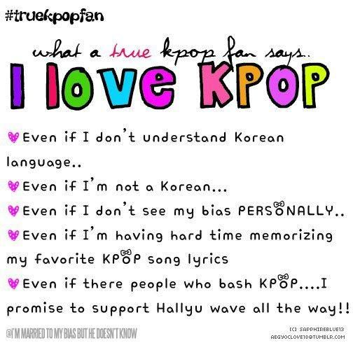 I love Kpop forever and allways! <3