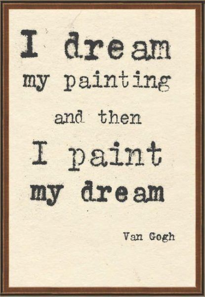 Vincent Van Gogh Quotes About Love, Stars and Life