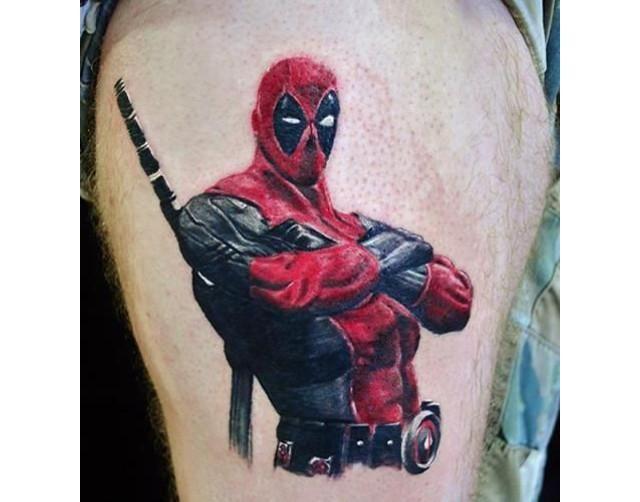 tatuajes de deadpool 5