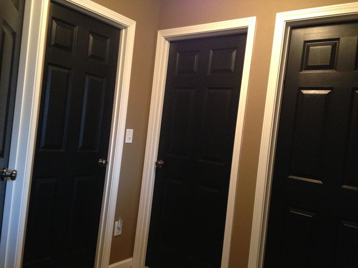 24 best images about black doors love on pinterest painted interior doors tapestries and for Best black paint for interior doors