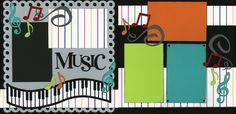 school concerts scrapbook page layouts - Google Search