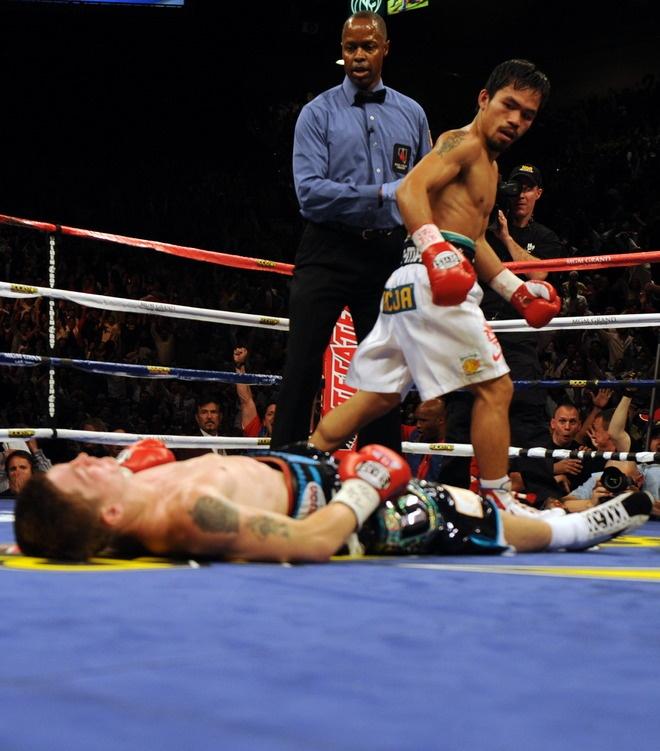 Boxing: Manny Pacquiao vs Ricky Hatton