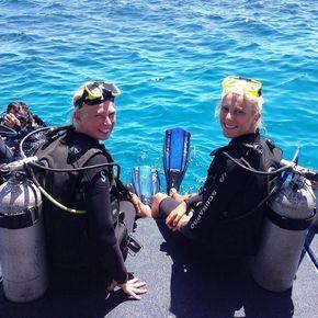 Vores sidste dag i Australien blev brugt på dykning #greatbarrierreef by julieeotto http://ift.tt/1UokkV2