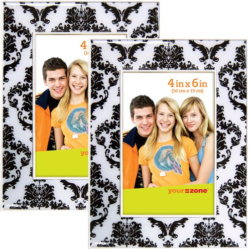 Black brocade picture frames: Walmart Com, 4X6 Brocade, Black And White, Brocade Pictures, Black Brocade, Picture Frames, Pictures Frames, Cute Pictures, Cute Frames