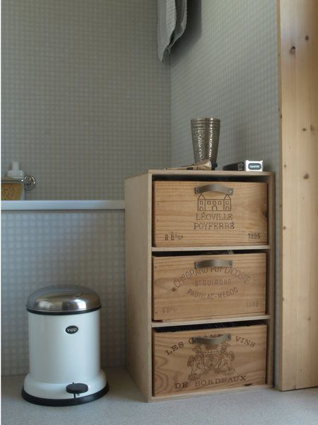 Möbel Selber Bauen: Schubladenschrank Mit Weinkisten
