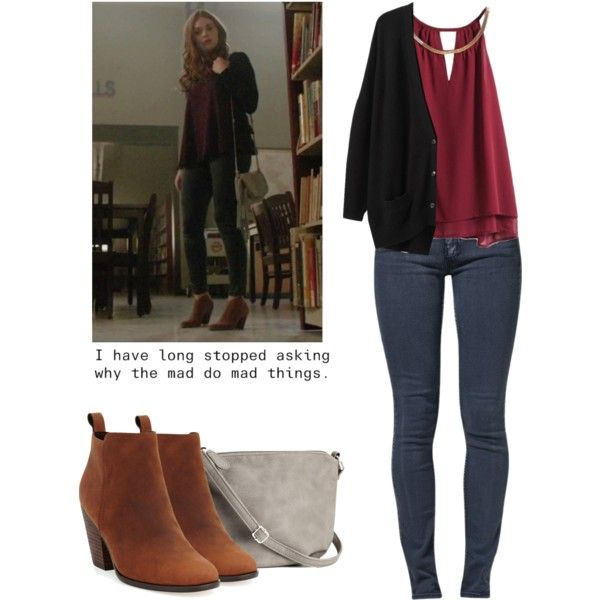Lydia Martin 5x18 - teen wolf / tw by shadyannon on Polyvore featuring Organic by John Patrick, Cheap Monday, Cole Haan and H&M