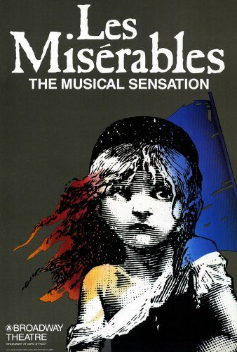 Les Miserables (Broadway) Poster Movie 11x17 Patrick Au0027Hearn Cindy Benson  Jane Bodle