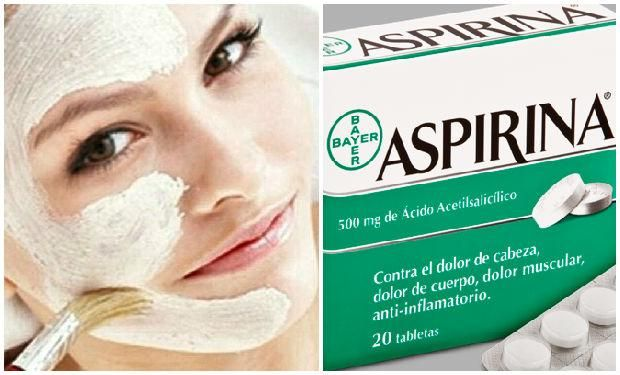 aspirina cara mascarilla  Nos encanta :) We Love :)