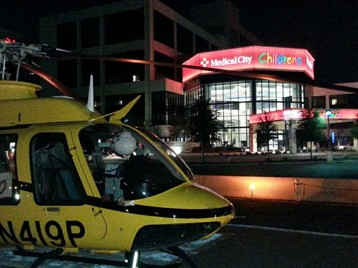 PHI Med 10 at Medical City of Dallas Children's Hospital! #HEMS #EMS #helicopter