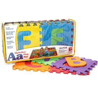Image For A Z 78 Piece Alphabet Play Mat From Kmart Kids