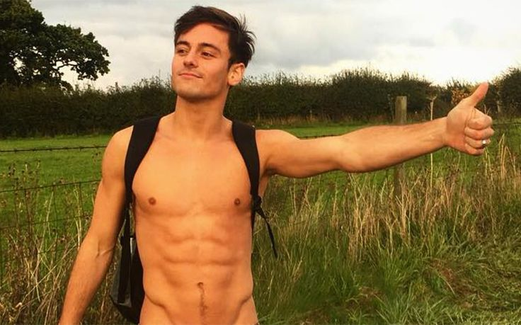 Anyone fancy giving Tom Daley a ride?