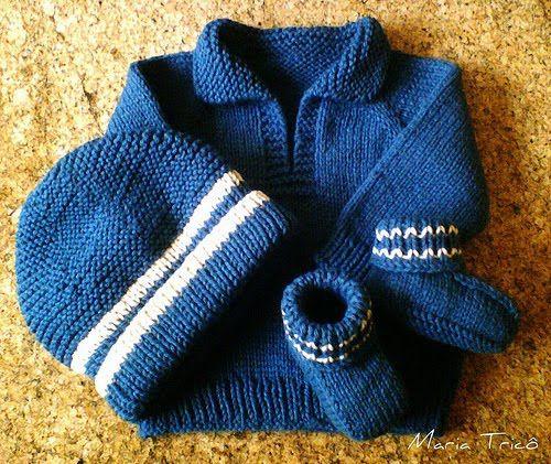 Terminei a manta! Preciso fotografá-la para postar! Enquanto isso, eu vou mostrar outro Telemark Pullover que eu fiz em azul, um gorrinho Du...