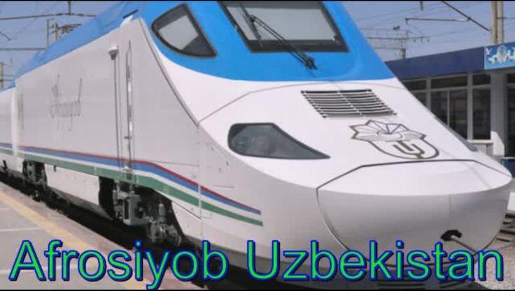 Afrosiyob скоростной поезд УЗБЕКИСТАНА !