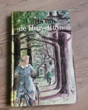 Boek ' Carla van de Heuveltuin' - Jac. Overeem-