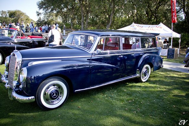 The very first Mercedes wagon, created by request for Mrs. Caroline Foulke; 1956 Mercedes-Benz 300C Station Wagon | J-villa