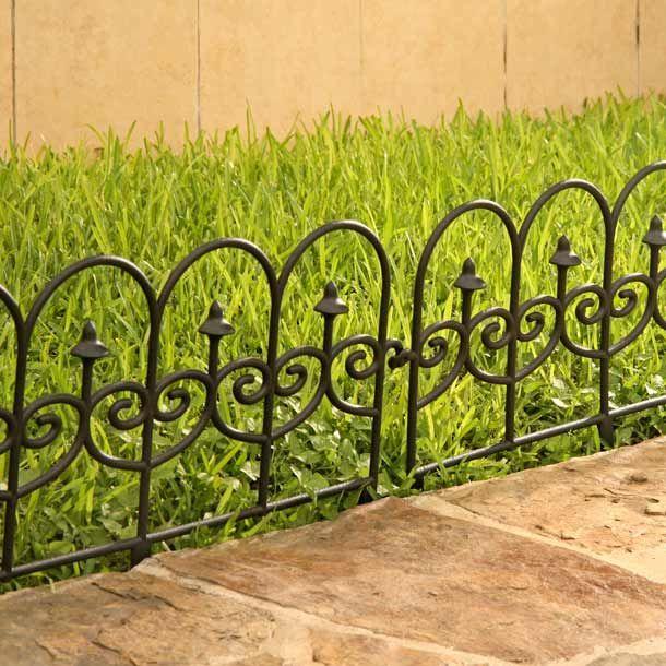 17 mejores ideas sobre cercas de hierro forjado en - Cercas para jardines ...
