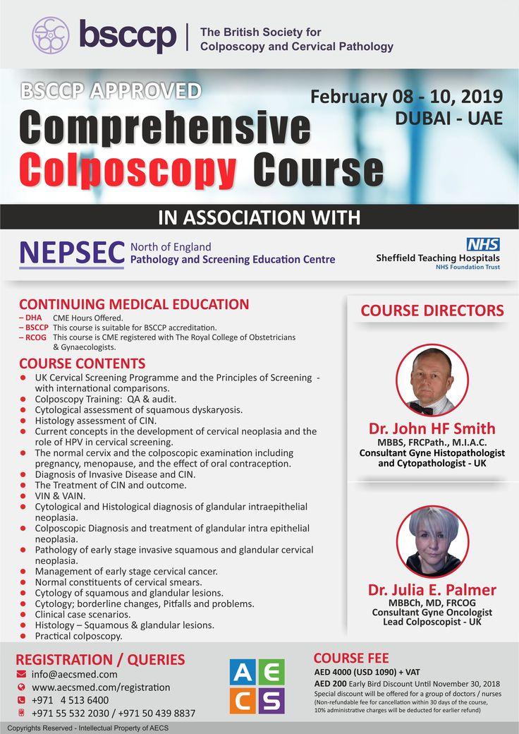 Comprehensive colposcopy course location dubai uae