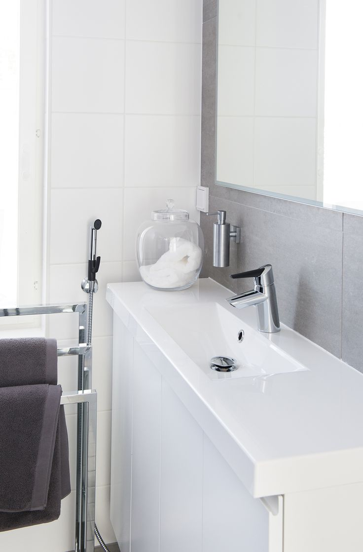 2702F Oras Optima wash basin faucet with a multipurpose hand shower Oras Bidetta